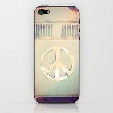 PEACE, LOVE, VW PHONE CASE iPhone & iPod Skin