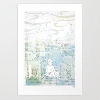 Little Music Fan Art Print