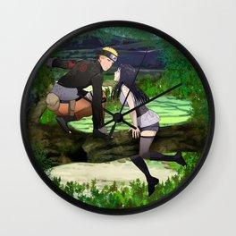 Naruhina Hide and seek Wall Clock