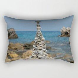 Pebble Tower Rectangular Pillow