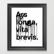 ALVB Framed Art Print