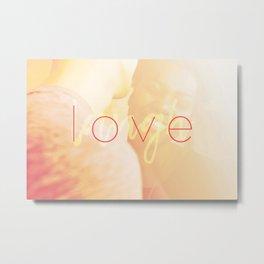 Love / Laugh Metal Print