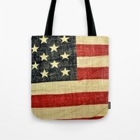 history Tote Bags featuring History by Chris Klemens