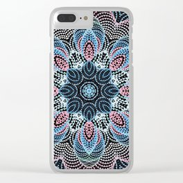 Kaleid 2 by Leslie Harlow Clear iPhone Case