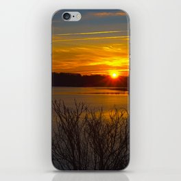 Sunrise at Little Seneca Lake iPhone Skin