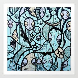 Twisted Tale Art Print