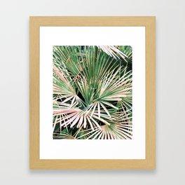 Palms #nature #painting Framed Art Print