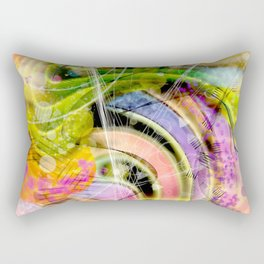 QUARK EXPRESS ABSTRACT Rectangular Pillow