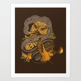 BIGMEAL Art Print