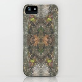 Natural Mosaic Collage 4 iPhone Case