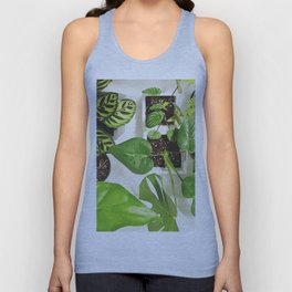 Urban jungle Unisex Tank Top