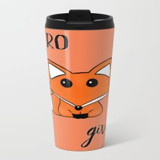 ZERO Fox Given Metal Travel Mug