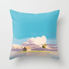 One Way Ride Throw Pillow