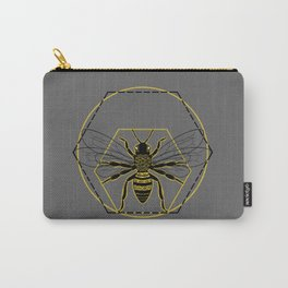 Vitruvian Bee Carry-All Pouch