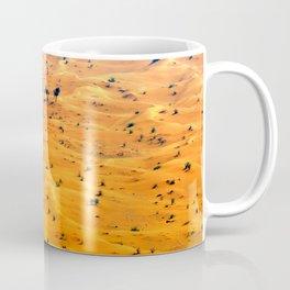orange sand Coffee Mug