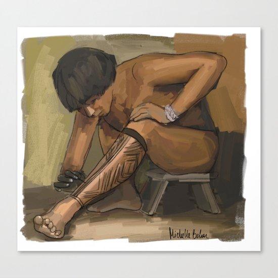 Karaja Canvas Print