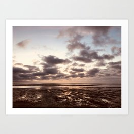 Clouds On The Water Art Print