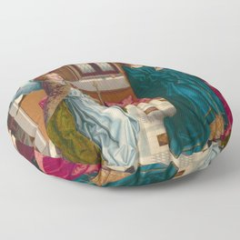 "Albert Bouts ""The Annunciation"" Floor Pillow"