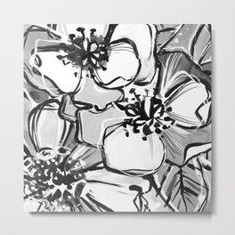 53/365 Black and White Metal Print