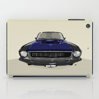 mustang iPad Cases featuring Mustang by Hypathie Aswang