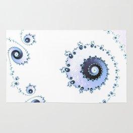 Delicate Lace - Fractal Art Rug