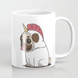 The Elusive Pugicorn Coffee Mug