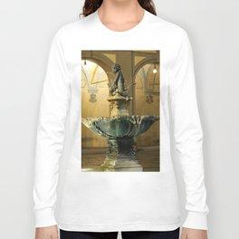 The Fountain - Prato - Tuscany Long Sleeve T-shirt