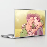 golden Laptop & iPad Skins featuring Golden by Daunt