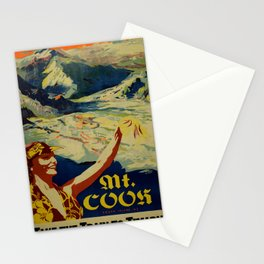 Werbeposter Mount Cook Stationery Cards