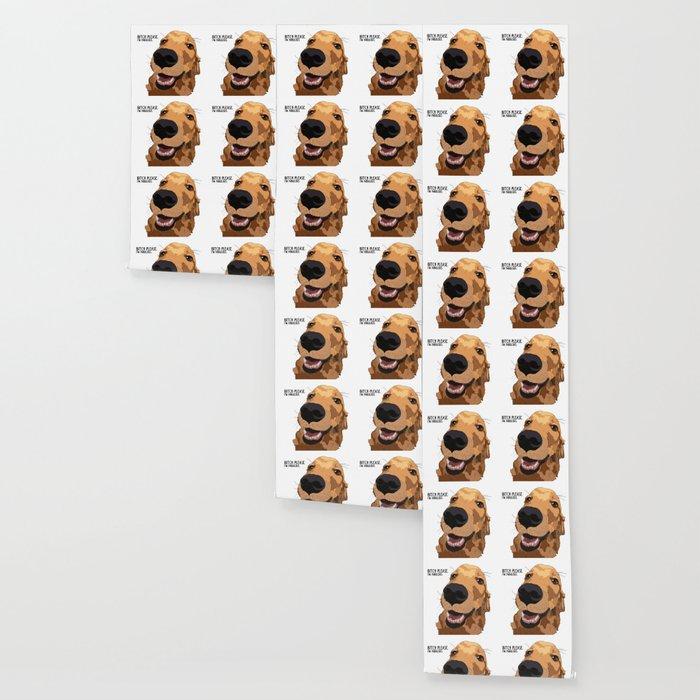 Bitch Please.  I'm Fabulous.  Golden Retriever Wallpaper