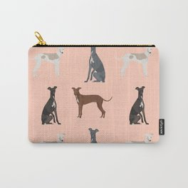 Italian Greyhound dog breed pet portrait unique pure breed gifts Carry-All Pouch