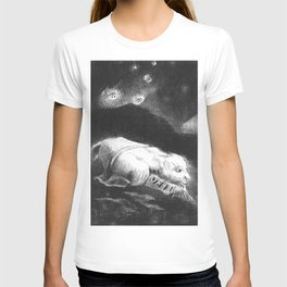 """Odilon Redon """"When Life was Awakening in the Depths of Obscure Matter"""" T-shirt"""