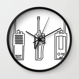 P.D.O.C Walkie Talkie Original Wall Clock