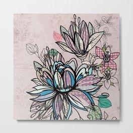 Paper Flowers #1 Metal Print