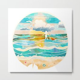 Bittersweet waves Metal Print