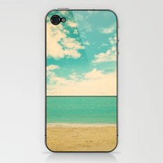 Retro Beach iPhone & iPod Skin