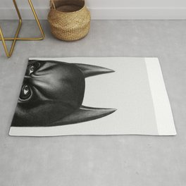 The Bat Drawing Rug