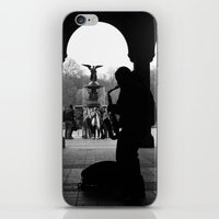 central park iPhone & iPod Skins featuring Central Park by Julian Clune
