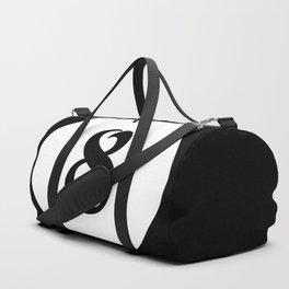 Eight ball pattern Duffle Bag