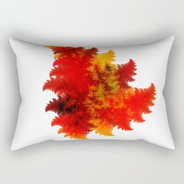 Forest Fire Rectangular Pillow