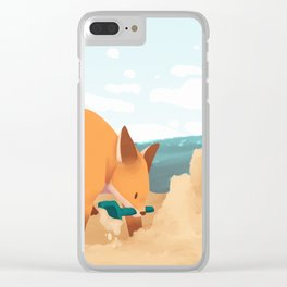 Sand Castles Clear iPhone Case