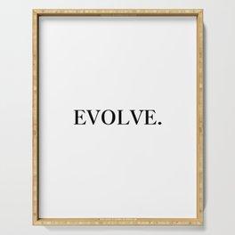 Evolve Serving Tray