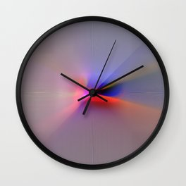 Diffused Reflection Wall Clock