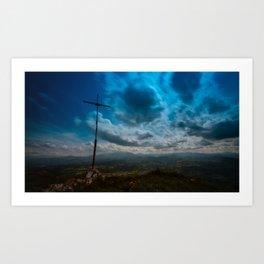Viene la nube Art Print
