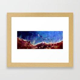 NGC 3324 Framed Art Print
