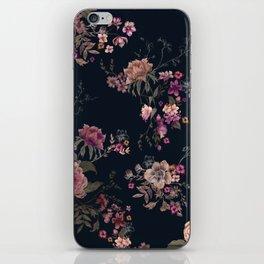 Japanese Boho Floral iPhone Skin