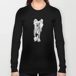 Sassy Chinese Crested Long Sleeve T-shirt