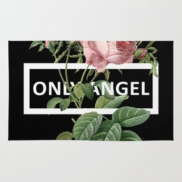 Harry Styles Only Angel Artwork Rug