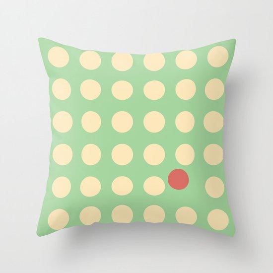 unanimity pattern Throw Pillow