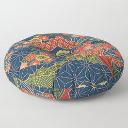 Japan Quilt Floor Pillow